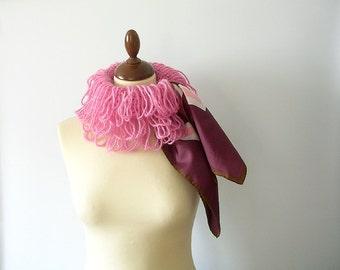 Pink Neckwarmer