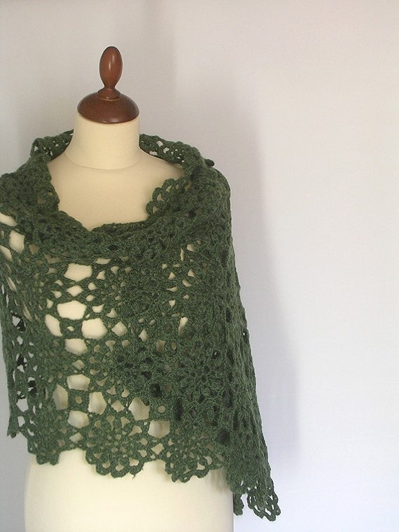 Green Olive Stole