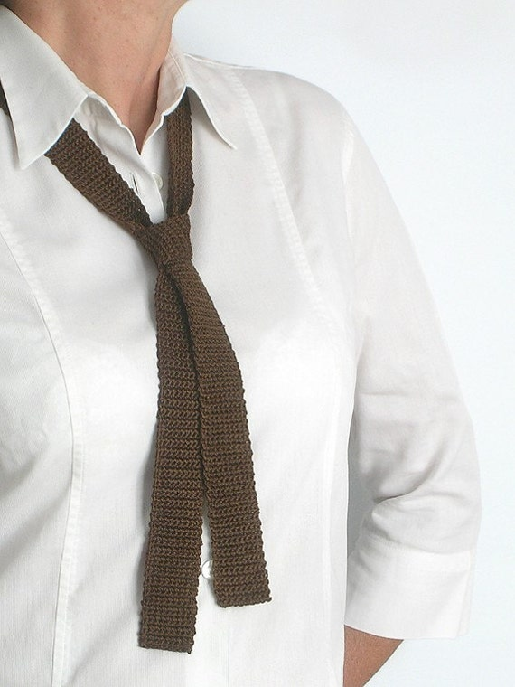 Brown Chocolate Tie