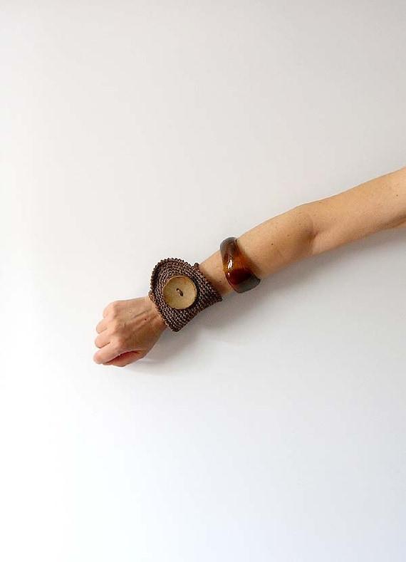 Chocolate Wrist Cuff