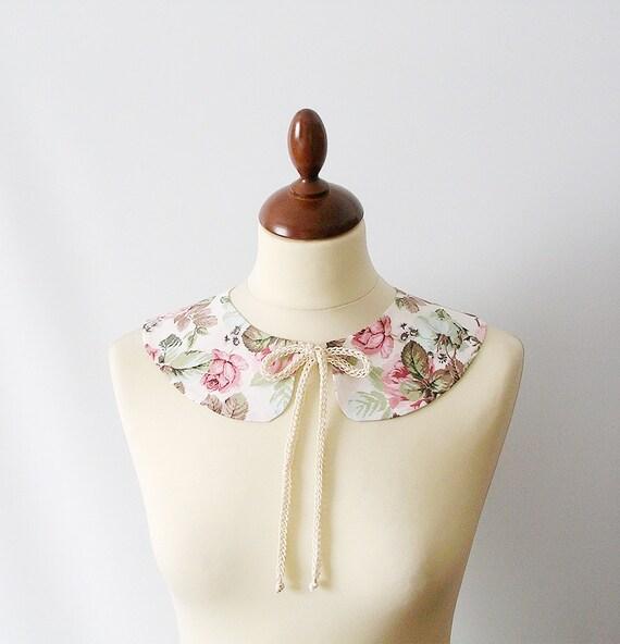 RESERVED FOR IRENE  Peter Pan Collar  Detachable  ooak