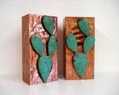 ON SALE!!! Copper Cactus Light Sconces