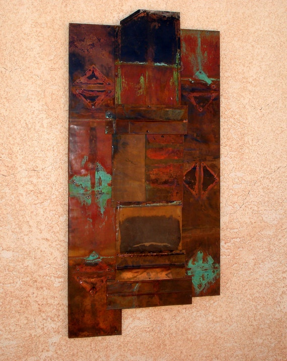 Copper Abstract Art 2