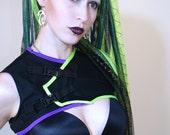 CYBORG SHRUG Futuristic Cyber Goth Custom Made For You RoBoTIc KiTtY