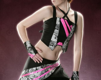 THE MECH NOVA Top Futuristic Cyber Goth Custom Made For You RoBoTIc KiTtY