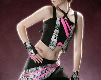 ORBITAL LUMINANCE MINI Futuristic Cyber Goth Custom Made For You RoBoTIc KiTtY