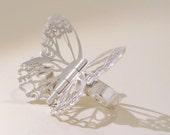 Fluttering Butterfly Ring - Limenitis Arthemis