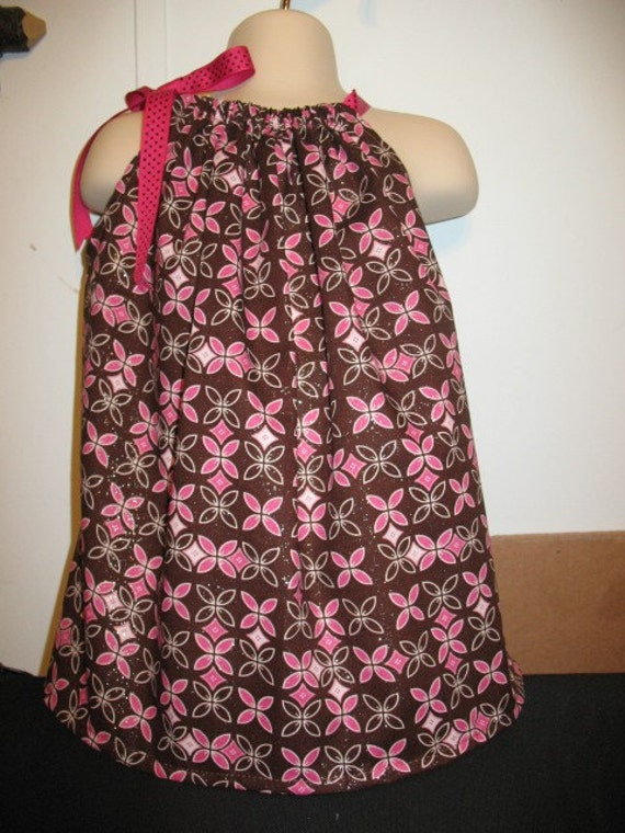 SUPER SALE Pink Pillowcase Dress From 0-3 to 4T Was 14.99