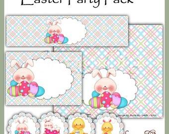 Easter Party Pack - Digital Printable - Immediate Download