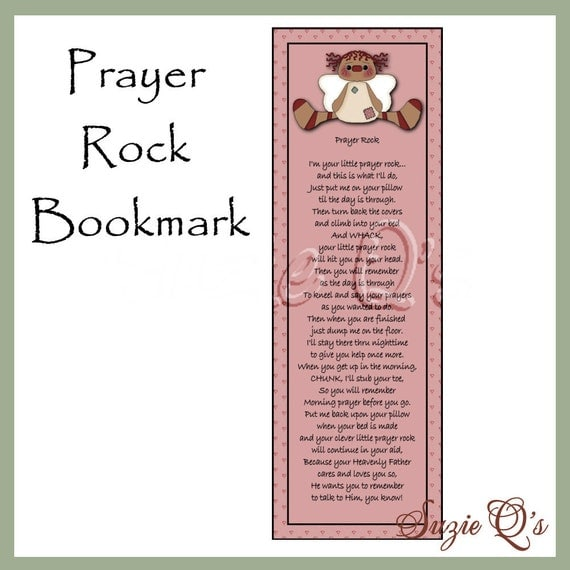 It is a photo of Current Prayer Rock Poem Printable