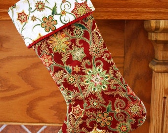 Christmas Stocking Pattern PDF FREE Big Bow Pattern, Holiday Decor, Handmade Christmas - Supplies Patterns - Instant Download
