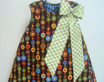 Big Bow Pattern - Sew Big Bow PDF Pattern Add to Pillowcase Dress, Jumper or Skirt, INSTANT DOWNLOAD Handmade Pattern