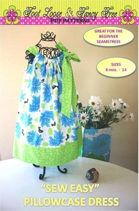 Sew Easy Pillowcase Dress Pattern New Easy By Olajanepatterns
