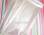 100 4 1/8 x 9 1/2 Cello Bags For  Business Envelopes, Bookmarks And More