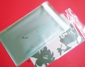 100  5 x 7  Clear Resealable Cello Bag Envelopes For Cards, Pictures and more