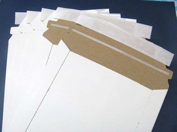 10 6x8 Rigid Paperboard Mailers