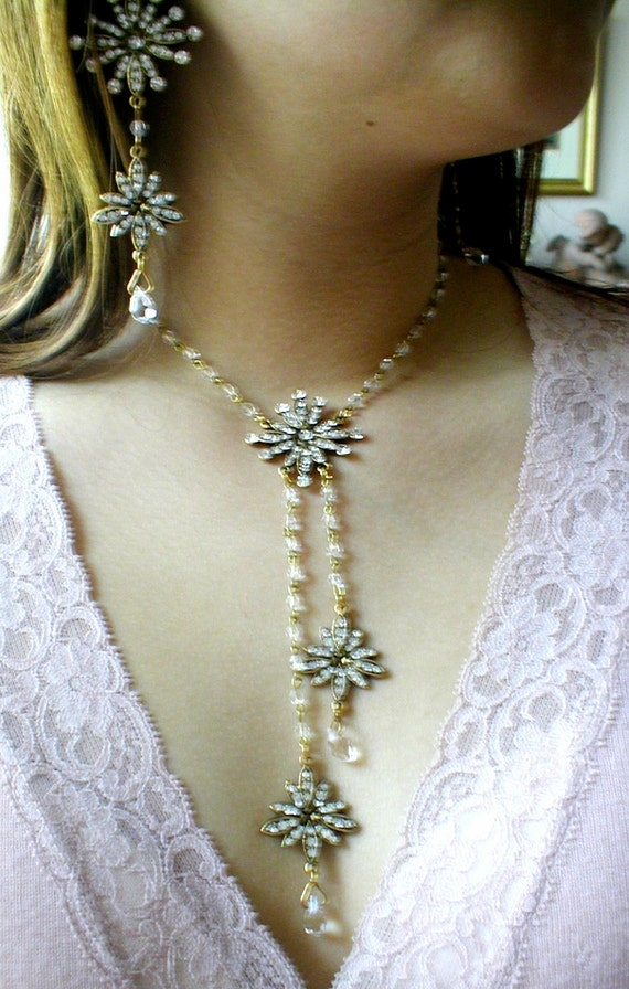 Phantom of the Opera Earrings & Necklace SET by ...