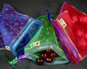 U pick 3 bags any color reusable produce bag