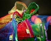 Reusable Produce bag set 7 Eco - Rainbows and Raspberries