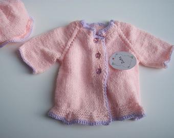Soft Pink w/ Lilac Trim