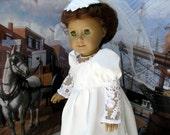 Eighteen Inch Doll Historical June Bride Dress by Bon Jean Creations