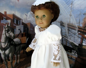 Eighteen Inch Doll Historical June Bride Dress by Bon Jean Creations