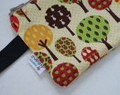 Special listing - Trees Fabric and Wallet for Meghan