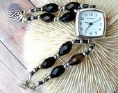 Silver Watch Sardonyx Jewelry W037