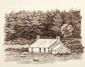 Old Farm House, Scottland