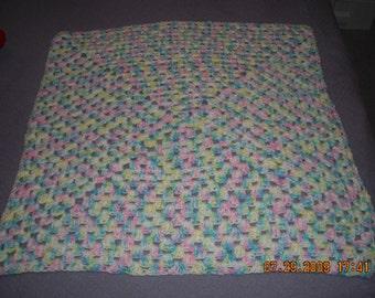 Crocheted Custom Baby Blanket