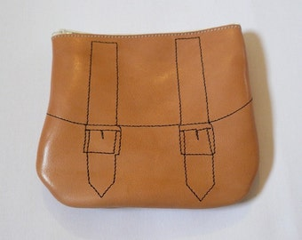 FREE WORLDWIDE SHIPPING Natural Leather Coin Purse