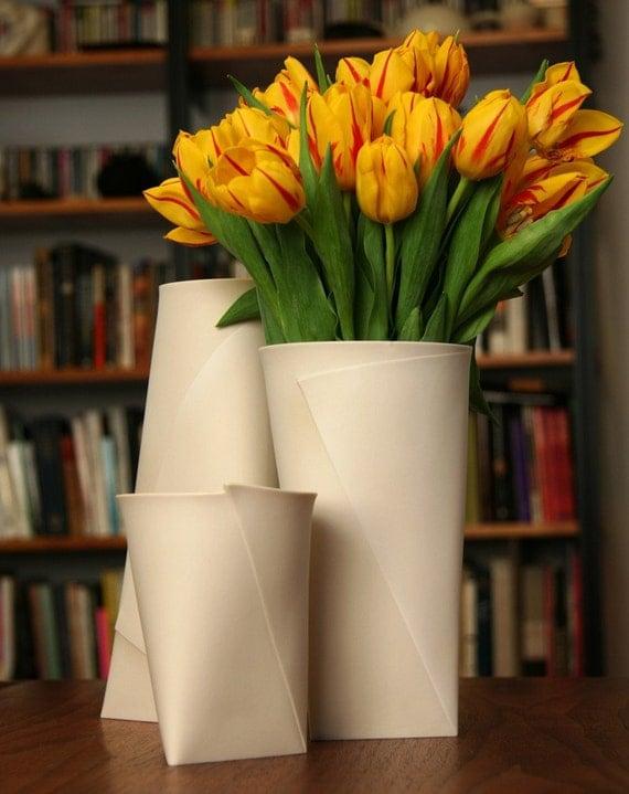 Large Folded A Vase