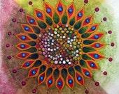 "mandala  ""MetamorphosisB"" - Fine Art Print"