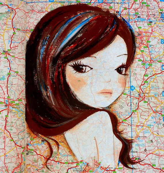 Sweet Girl original painting