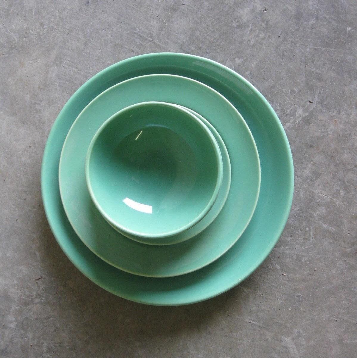 Franciscan Dinnerware El Patio Set In Mint By Selectmodern