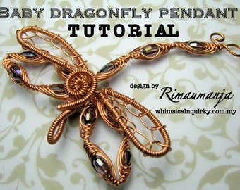 Baby Dragonfly Pendant Tutorial