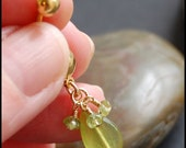 "Belly Ring / Belly Jewelry /  Belly Barbell / Gold Filled / ""Apple Martini"""