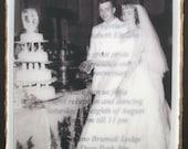 Custom Order for Annette - 50th Wedding Anniversary Invitations