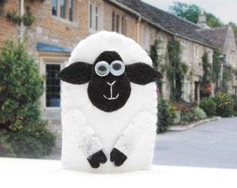 finger puppet sheep