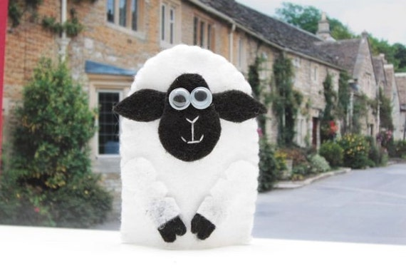 finger puppet sheep