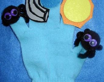 Puppet GLove Set ITSY BITSY SPIDER Puppet GLove Set