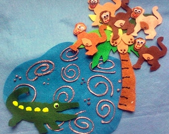 Felt Board Story SetTeasing Mr. Alligator Flannel Board Felt Board Story Set