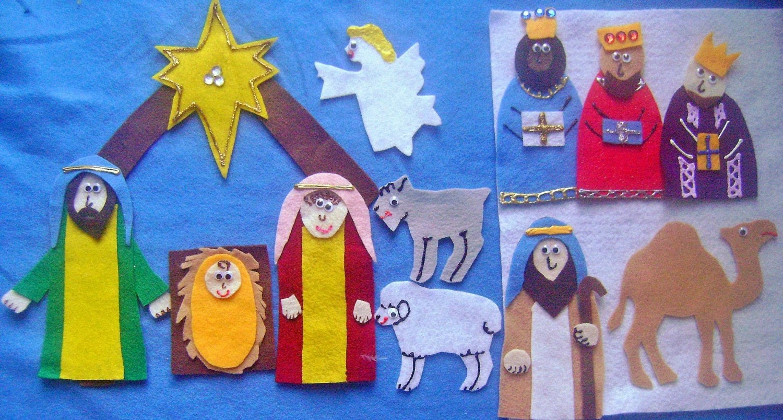 The Christmas Story Felt Board Flannel Board By