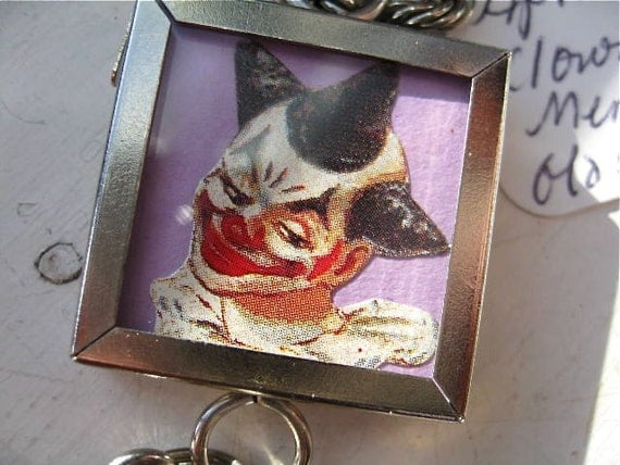Clowns With Locket Carnival of Couture Commemorative