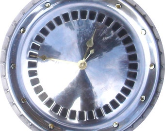 Sale: Hubcap Clock, 60's Ford Mercury Comet , Galaxie, Falcon, and Fairlane (dots for numbering)