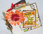 Sugar and Spice recipe book and photo album