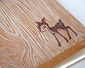 Glitter Spotted Fawn - Moleskine Pocket Journal