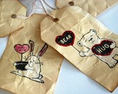Funny Valentine's Tags - or use as cards for the kiddos