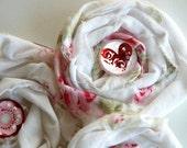 Valentine's Shabby Chic Flower Embellies
