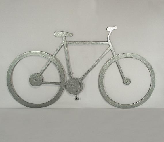 Metal Wall Decor Bicycle : Bicycle metal wall art